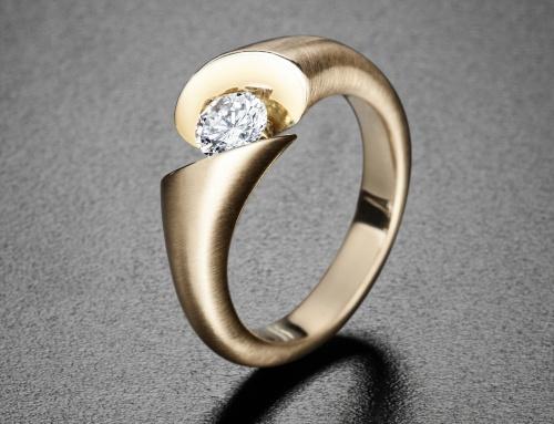 Der Diamantring für die große Liebe